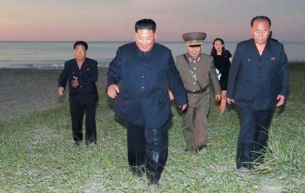 김정은 북한 국무위원장이 지난 24일